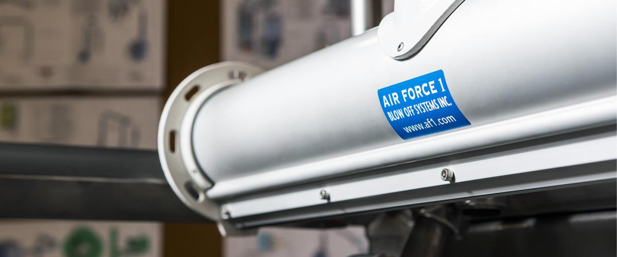 Air Force 1 air knives